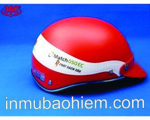 Mũ nón bảo hiểm thuốc trừ sâu match 06