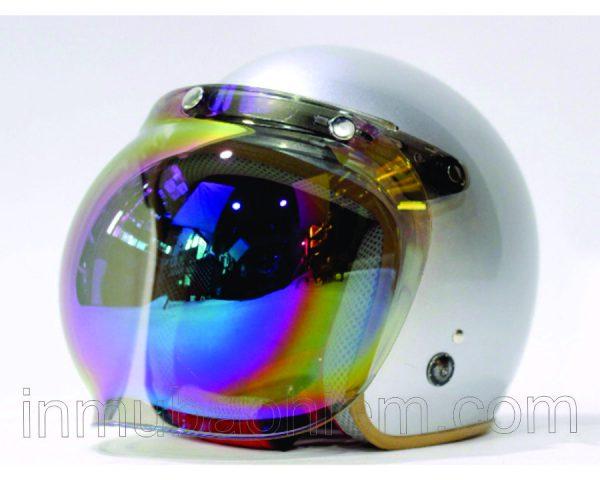 Nón bảo hiểm 3/4 đầu cao cấp có kính 7 màu