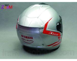 Nón bảo hiểm 3/4 đầu cao cấp in Yamaha