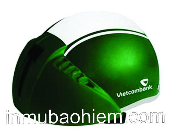 Nón mũ bảo hiểm Vietcombank