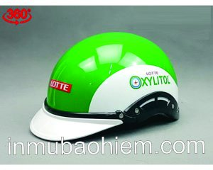 Mũ nón bảo hiểm lotte xylitol