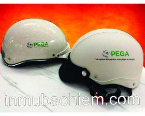 Nón sơn xe điện PEGA